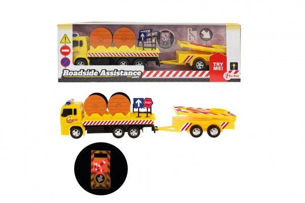 Auto nákladní plast 17cm silniční pomoc se svítícím značením