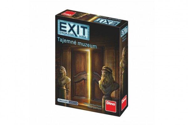 Úniková hra: Tajemné muzeum, společenská hra v krabičce