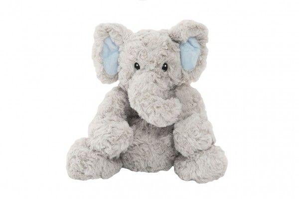 Sedící nahřívací slon - 23 cm