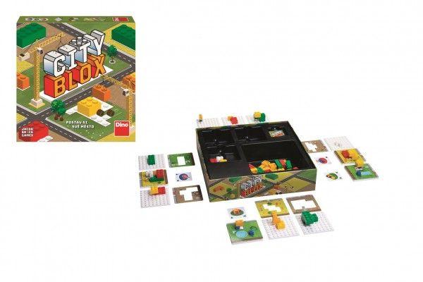 Společenská hra City blox - postav si své město