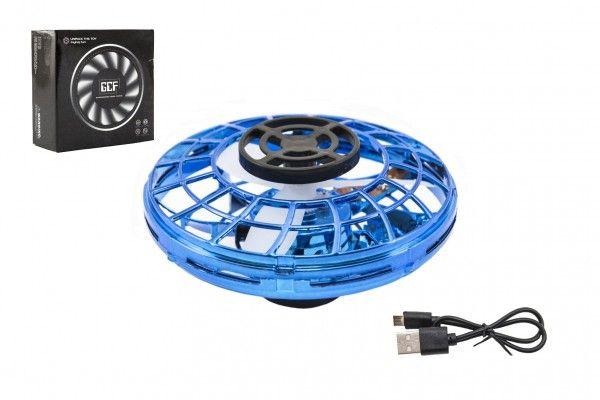 UFO, modré 12 cm