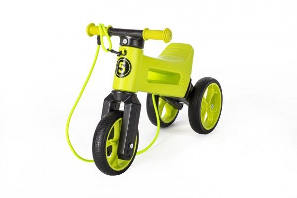 Teddies FUNNY WHEELS Rider SuperSport zelené 2v1popruh 2830cm
