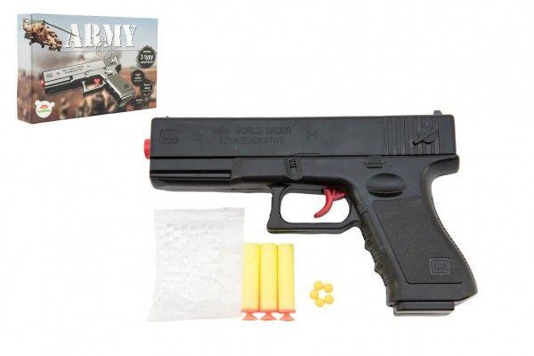Pistole na kuličky, 20 cm