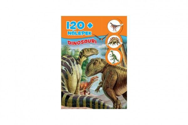 Pracovný zošit Dinosaury + 120 nálepiek SK verzia 21x30cm