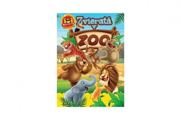 Aktivity Zvieratá v ZOO 101 s nálepkami SK verzia 21x30cm