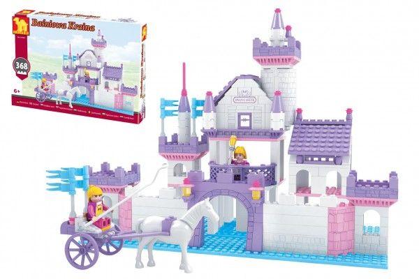 Kostky stavebnice Dromader hrad pro holky 368 dílků