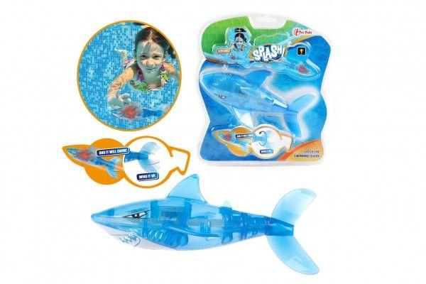 Žralok na natažení plast 10cm