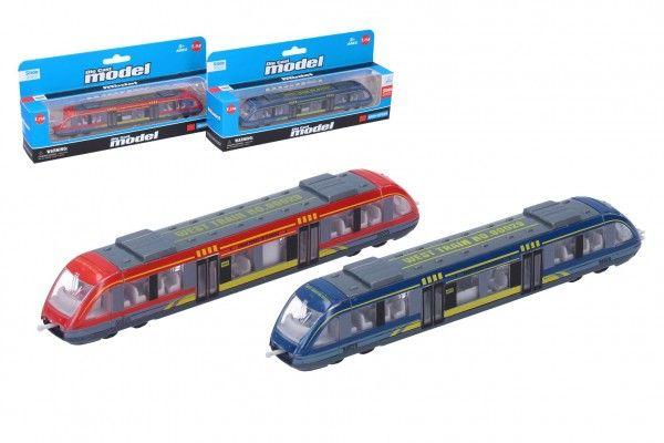 Metro/vlak/tramvaj kov/plast 18cm na volný chod