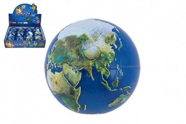 Míček skákací Země guma 7cm