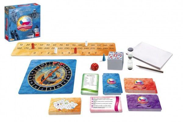 Máme rádi Česko rodinná společenská hra v krabici 24x24x6cm