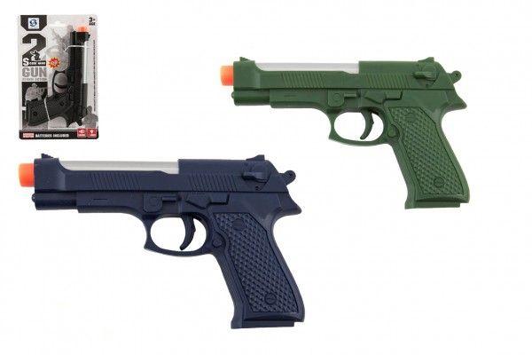 Pistole na baterie se světlem a zvukem