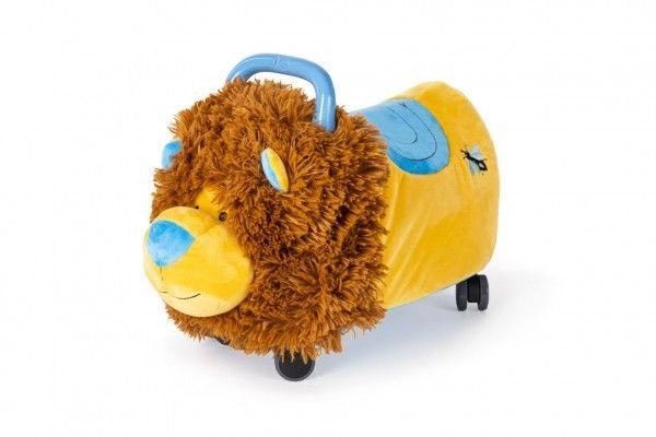 Odrážedlo FUNNY WHEELS Rider Ride-On lvíček 50cm  plyšový
