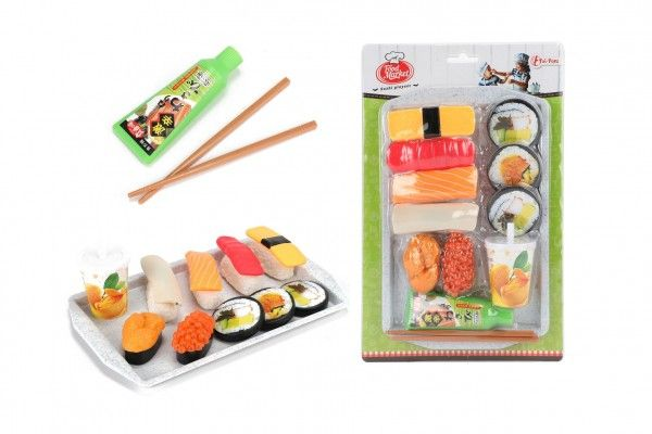 Sada sushi s doplňky, 29 cm