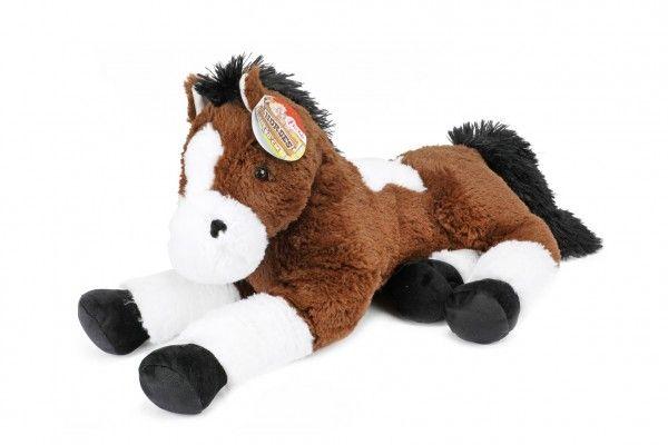 Kůň ležící plyš 60cm