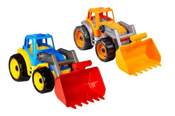 Traktor/nakladač/bagr se lžící plast na volný chod