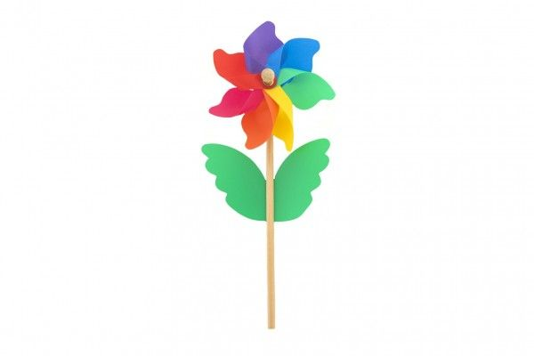 Barevný větrník, 38 cm