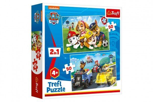 Puzzle 2v1 Tlapková patrola