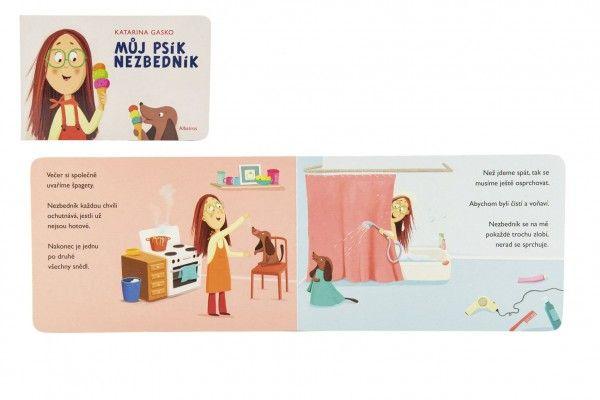 Knížka Můj psík nezbedník 16 x 24 cm 2+