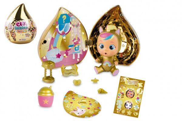 CRY BABIES Magické slzy plast panenka s domečkem a doplňky