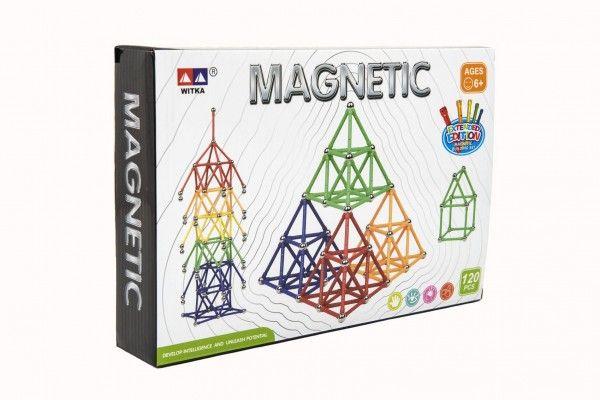 Teddies Magnetická stavebnice 120 ks
