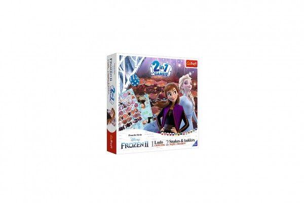 Soubor her 2v1 Člověče, nezlob se, Hadi a žebříky Frozen II