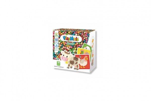 PlayMais Mozaika Farma z kukuřičných lupínků 2300ks kreativní sada v krabici 20x20x10cm
