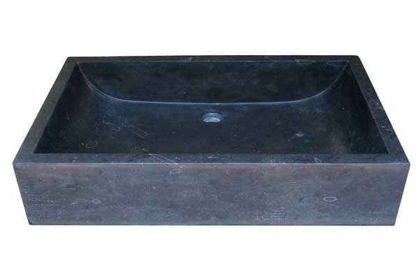 Umyvadlo z přírodního kamene Ornatus 308 Black