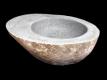 Umyvadlo z přírodního říčního kamene The Lavabo Slice Avocado