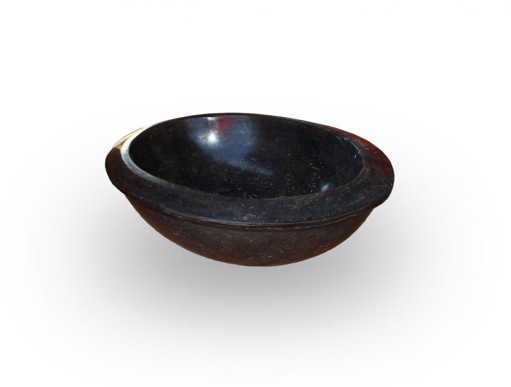 Indera Verum Black 57043 Kamenné umyvadlo