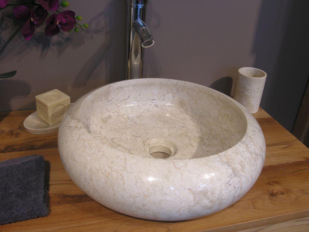 Kamenné umyvadlo Ferox Cream