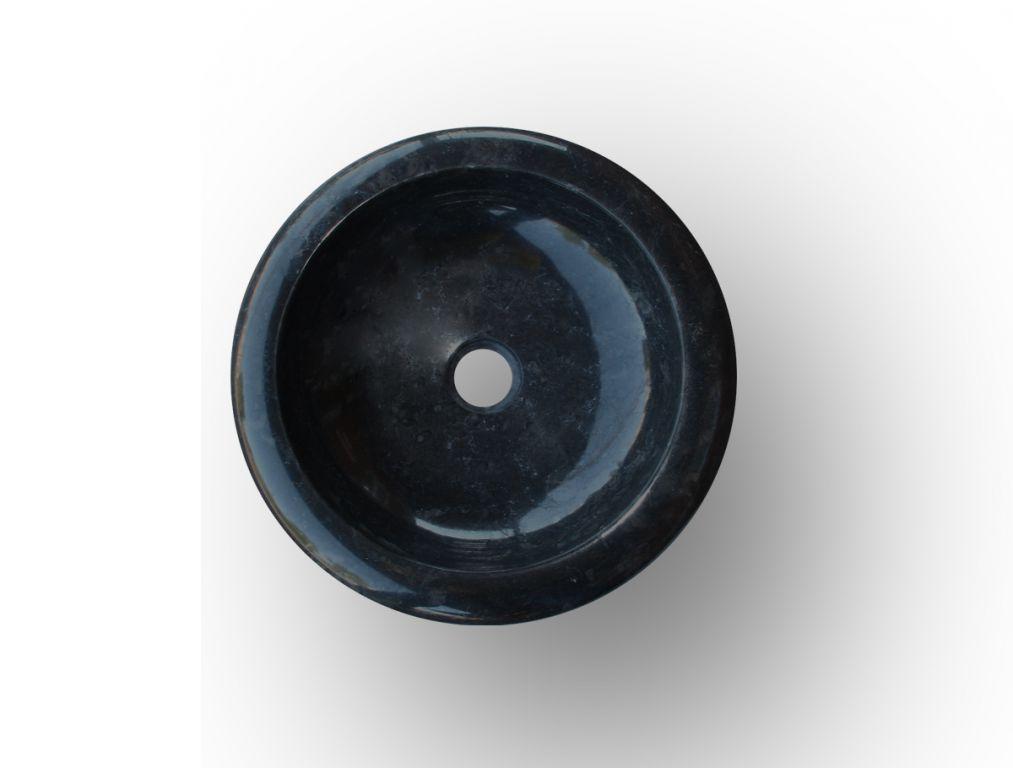 Kamenné umyvadlo Ferox Black