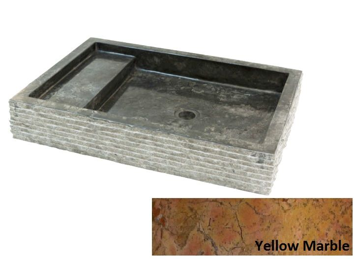 Indera Kotak Trap Marmo Yellow 57062 Kamenné umyvadlo