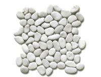 Oblázková mozaika White Timor 1m2