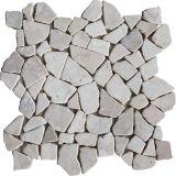 Mozaika z mramoru Kuta White 1m2
