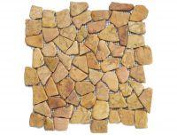 Mozaika z mramoru Yucatan Brown 1m2