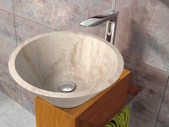 Kamenné umyvadlo Fidus Cream