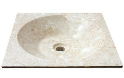 Kamenné umyvadlo Asper Cream