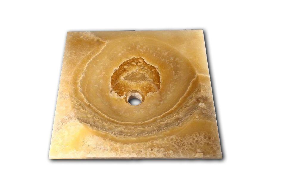 Kamenné umyvadlo Asper Onyx