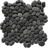 Oblázková mozaika Black Sumatra 1x síťka