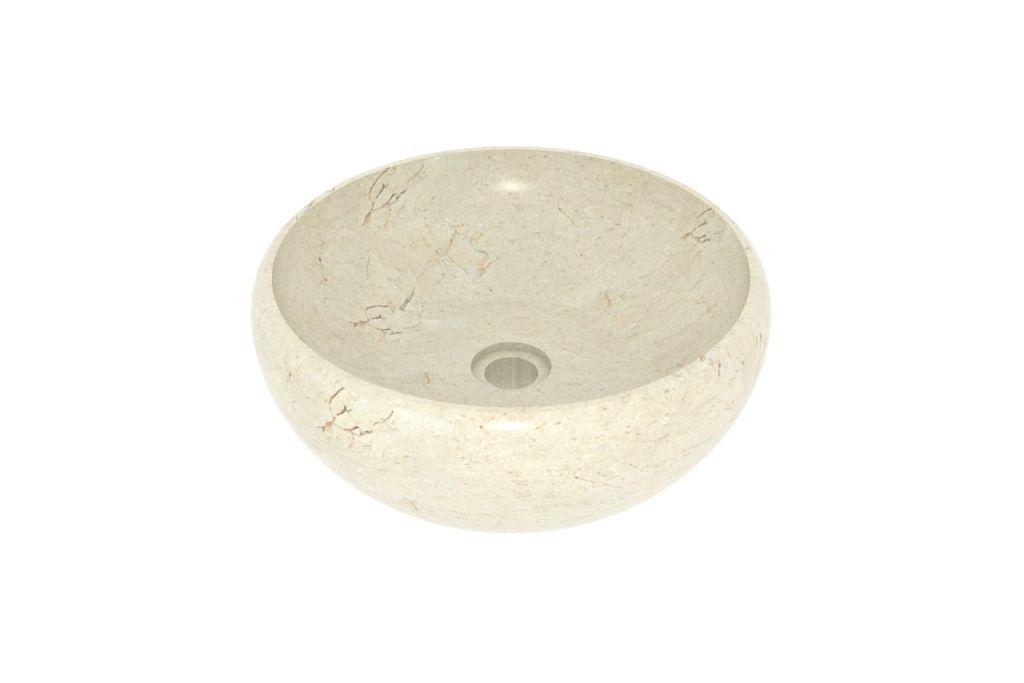 Umyvadlo z přírodního kamene Lenis Cream