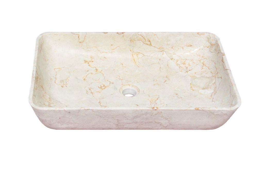 Umyvadlo z přírodního kamene Satis Cream