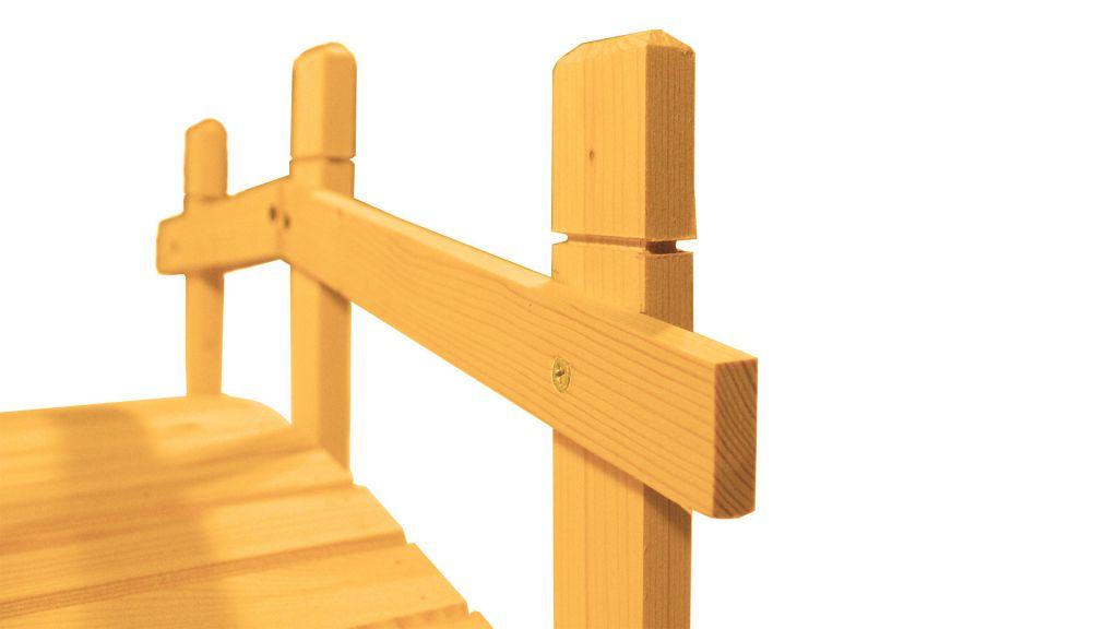 Zahradní dřevěný můstek - 71 cm - TEAK