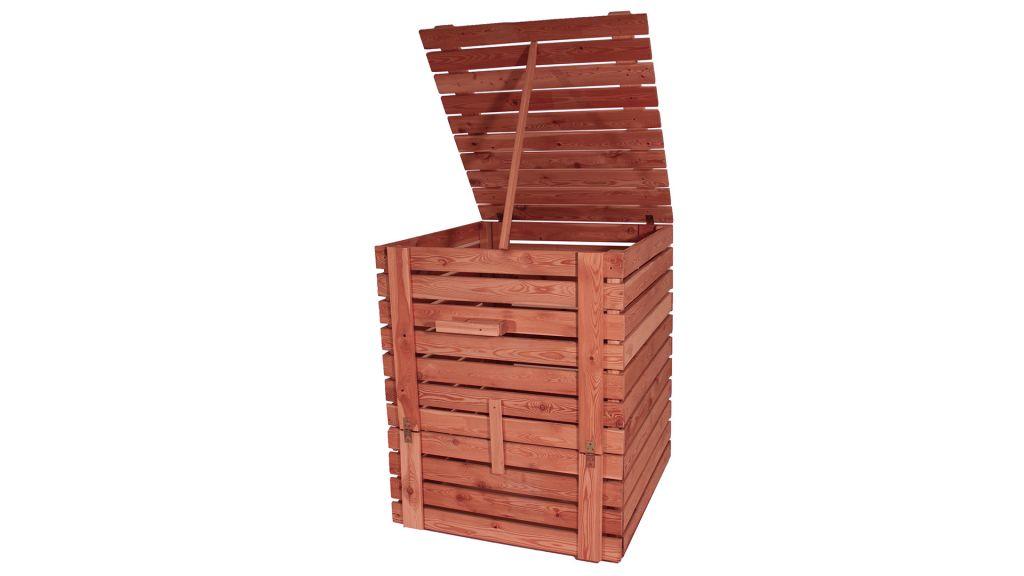 Dřevěný kompostér ze sibiřského modřínu 1200l