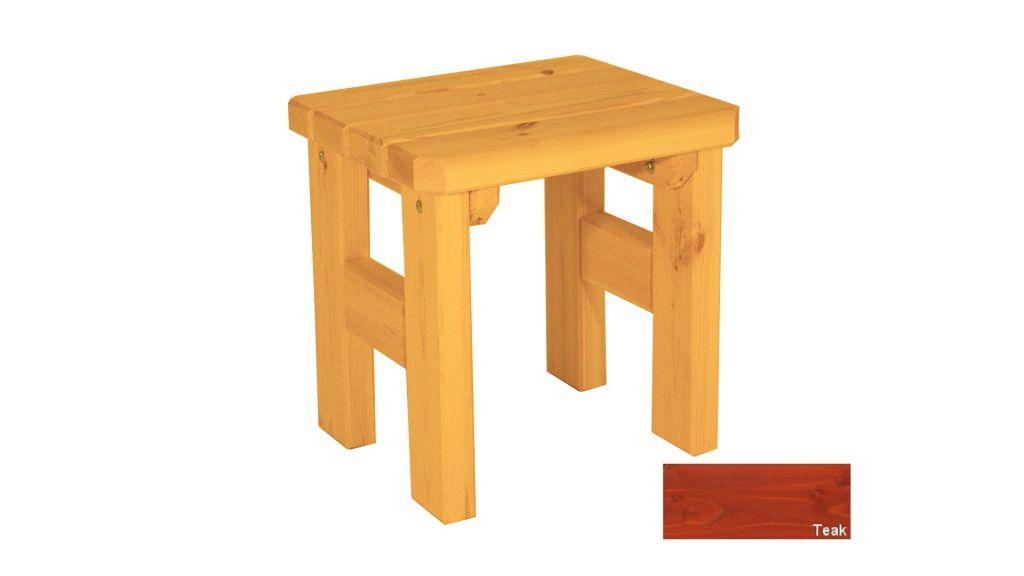 Gaboni Darina 63155 Zahradní dřevěná stolička - s povrchovou úpravou - TEAK