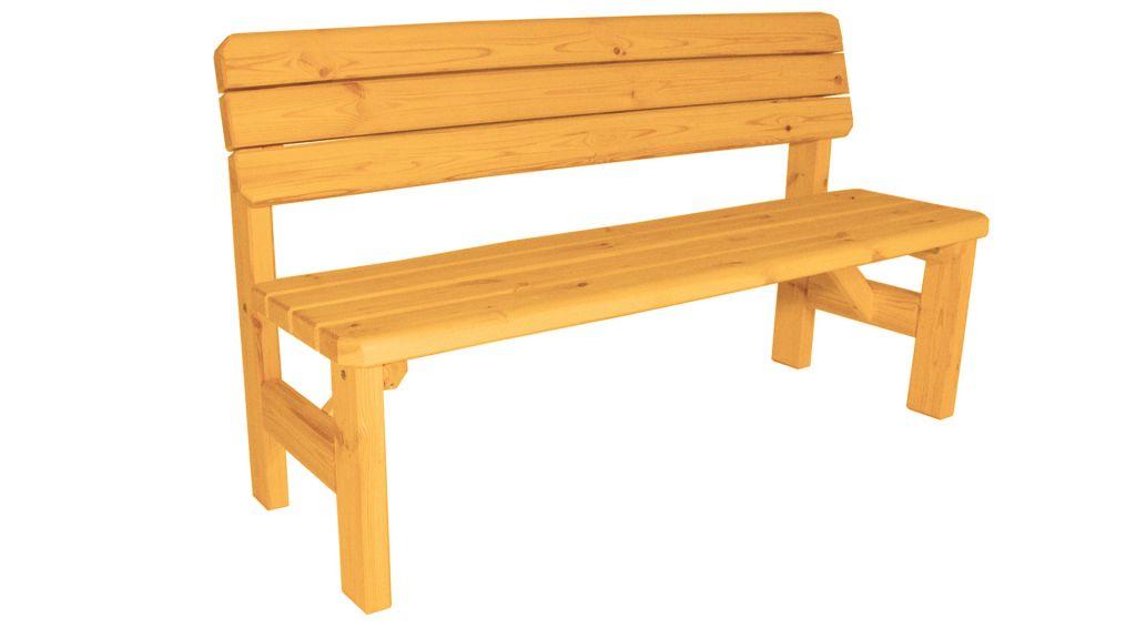 Zahradní dřevěný set Darina – s povrchovou úpravou – BOROVICE