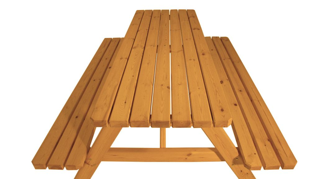 Zahradní set piknik – s povrchovou úpravou – 200 cm – VEVERKA