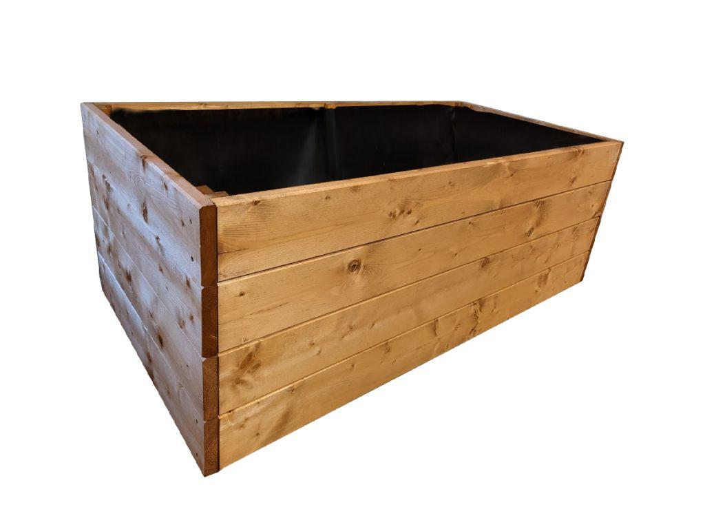 Dřevěný vyvýšený záhon Maxi, 135 x 78 x 52 cm