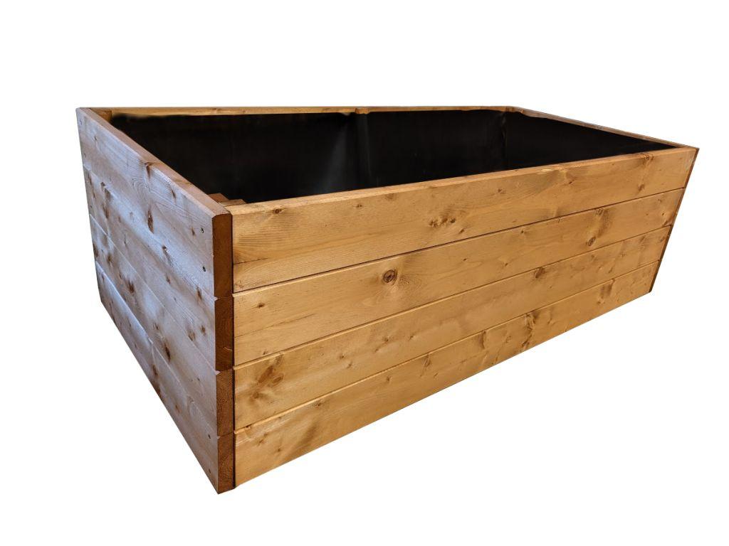 Dřevěný vyvýšený záhon Maxi, 162 x 78 x 52 cm