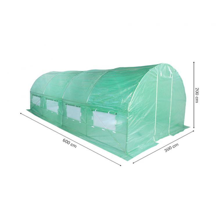 Fóliovník 300 cm x 600 cm (18 m2) zelený