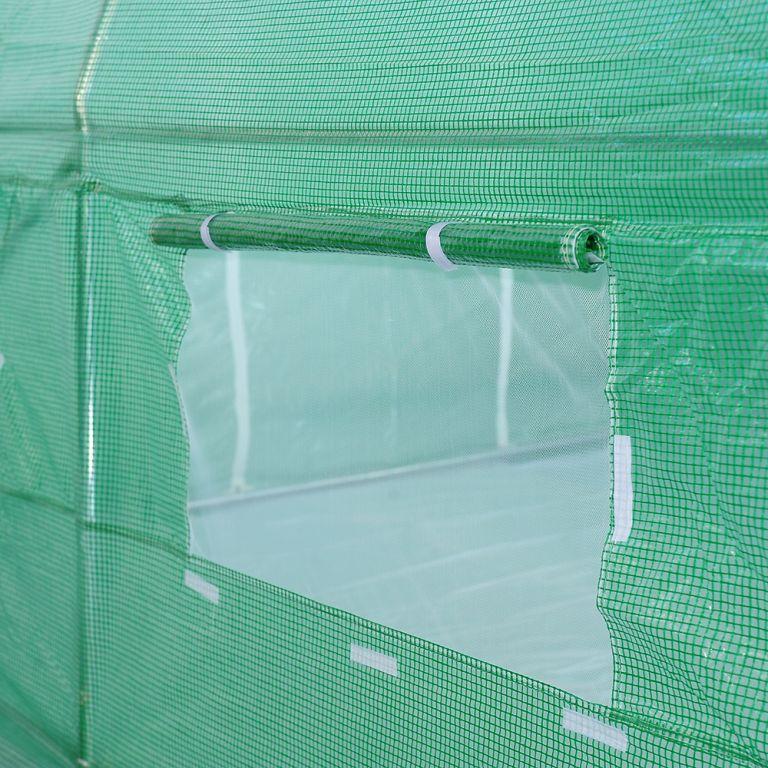 Fóliovník 250 cm x 500 cm - zelený
